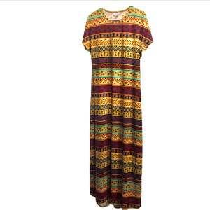 LuLaRoe Aztec Print Maria Dress Medium NWT!